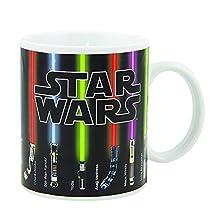Novelty Star Wars Color Morphing Mug Heat Sensitive Changing Mug Ceramic Tea Coffee Cup