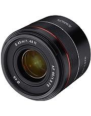 ROKINON 45mm F1.8 Full Frame Auto Focus Compact Lens for Sony E-Mount