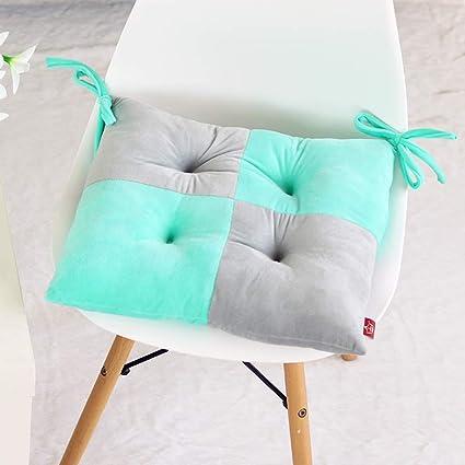 D&LE Felpa Gruesa Cojines para sillas Dos Colores Empalme de Cojines ...