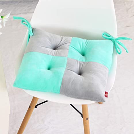 D&LE Felpa Gruesa Cojines para sillas Dos Colores Empalme de ...