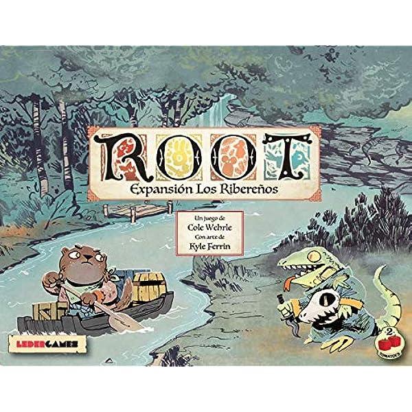 2Tomatoes Games Root-Expansión los Rivereños (2 Tomatoes ...