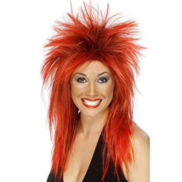545d7c8e12 Red wig for women  Amazon.co.uk  Toys   Games