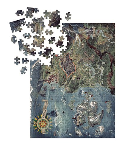 Dark Horse Deluxe The Witcher 3: Wild Hunt - Witcher World Map Deluxe Puzzle