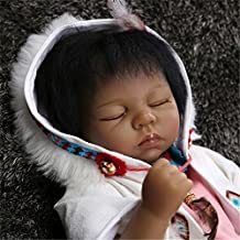 NPK Collection Native American indian doll 22inch collection Very popular&rare reborn baby doll Cultural and educational collection