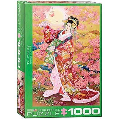 Syungetsu by Haruyo Morita 1000-Piece Puzzle: Toys & Games