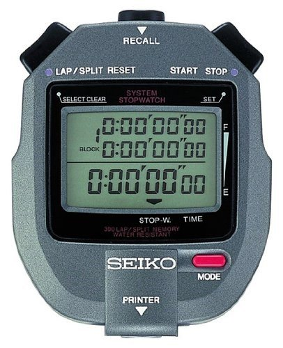 SEIKO Timers 300 Lap Memory Stopwatch Connectable to Printer ()