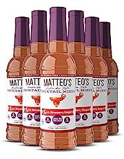 Matteo's Sugar Free Cocktail Mixes - Strawberry Daiquiri