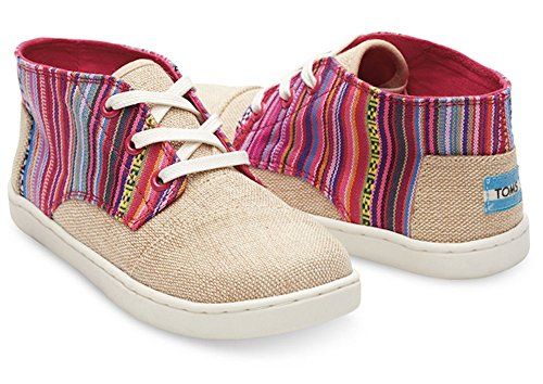 Tom's Youth Paseo Mid Natural Burlap Geo Textile 1.5