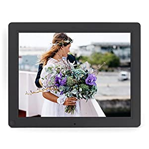 Micca NEO 12-Inch Digital Photo Frame with 8GB Storage, Motion Sensor, High Resolution LCD, MP3 Music and 720P HD Video Playback, Auto On/Off Timer (M123A-M)