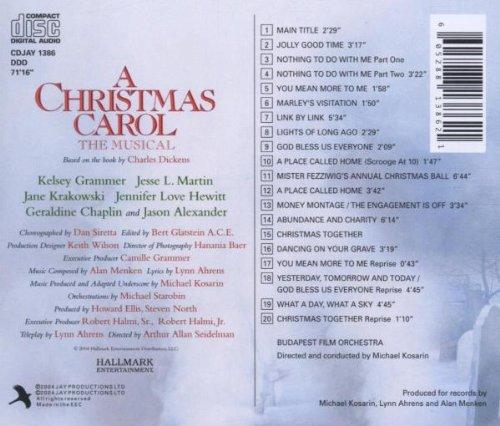 original nbc tv cast a christmas carol the musical 2004 tv film amazoncom music - A Christmas Story Soundtrack