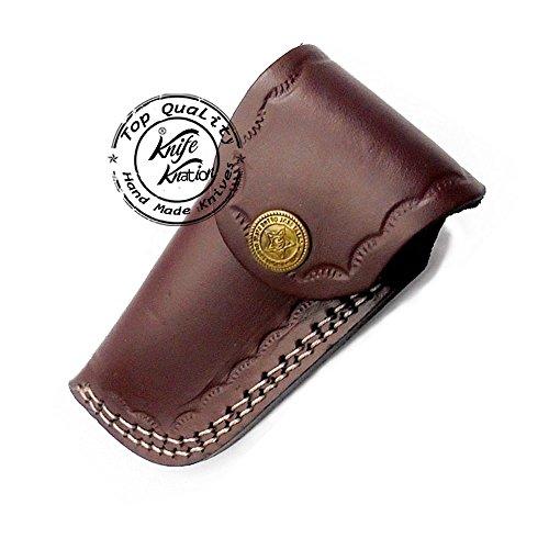 Olive-Wood-65-100-Handmade-Damascus-Steel-Folding-Pocket-Knife-100-Prime-Quality