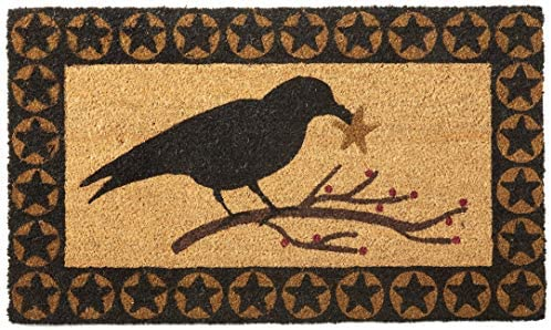Park Designs Crow Star Doormat