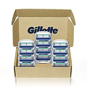 Gillette5 Men's Razor Blade Refills, 12 Count