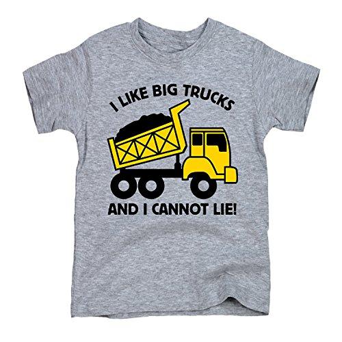 I Like Big Trucks - TODDLER SHORT SLEEVE TEE