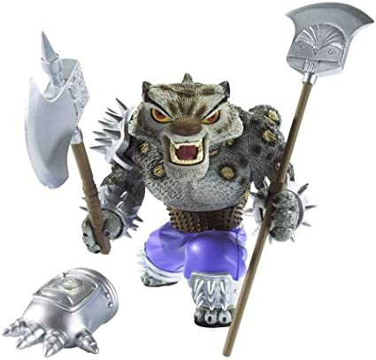 Amazon Com Kung Fu Panda Movie Action Figure Spear Assault Tai Lung Toys Games