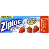 Ziploc Storage Bag, Gallon Value Pack, 38-Count,Pack of 3
