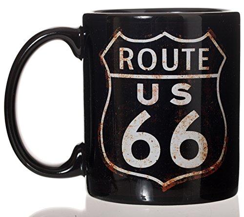 Route 66 Mugs (Route 66 Iconic American Highway Ceramic Coffee Mug 11oz)
