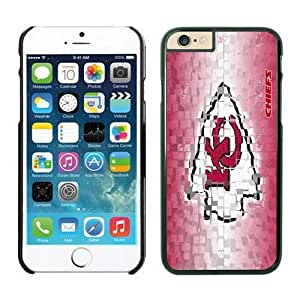 NFL iPhone 6 4.7 Inches Case Kansas City Chiefs Black iPhone 6 Cell Phone Case KXWFRTYE2157