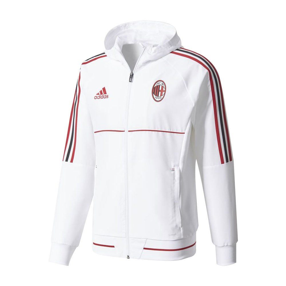 Mens jacket adidas ac milan track jacket victory red,adidas