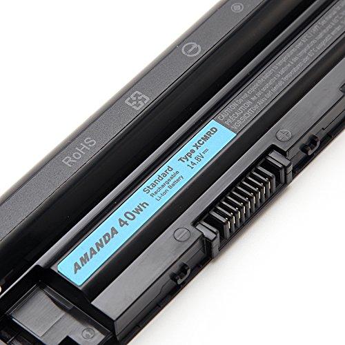 AMANDA XCMRD Battery for Dell Inspiron 14 3421 / 14r 5421 3437 N3421 N5421 / 15 3521 / 15r 3537 5521 5537 N3521 N5521 N5537 / 17 3721 / 17r 5737 N3721 N3737 N5721 N5737 5721 MR90Y 14.8V 40WH by Amanda (Image #1)