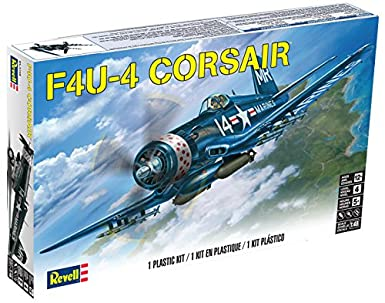 amazon com revell corsair f4u 4 1 48 scale toys games