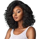 Sensationnel Curls Kinks & CO All Curl Types From 3B-4C Instant Weave 1/2 Half Wig - IW BOSS LADY (4 [Medium Brown])