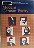 Modern German Poetry, unknown, 1555460879