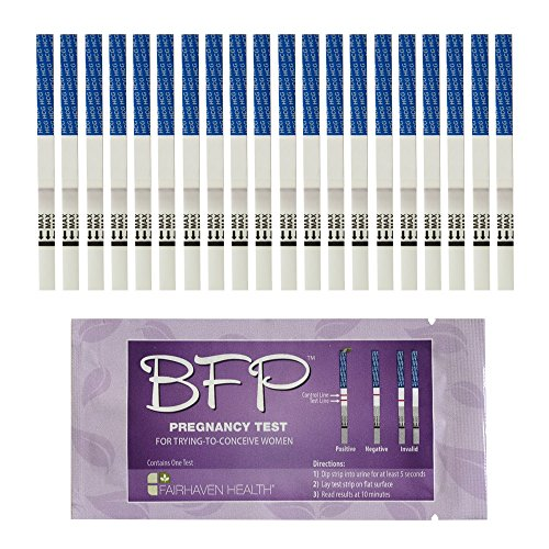 Amazon Com Bfp Pregnancy Test Strips 20 Pack Made In N America