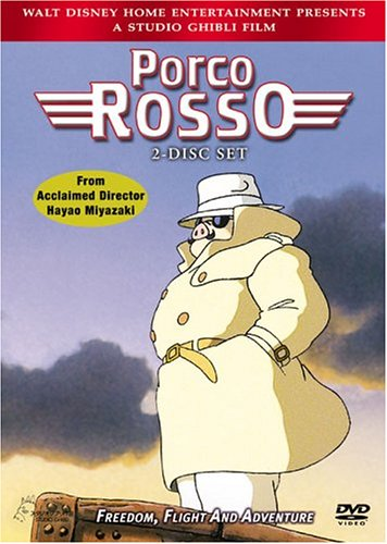 Porco Rosso (Bilingual) Michael Keaton Cary Elwes Kimberly Williams-Paisley Susan Egan