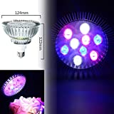 9W E27 PAR38 LED Full Spectrum Coral Reef Plant Grow Light Fish Tank Aquarium