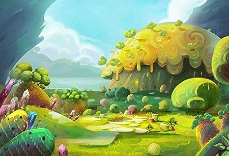 amazon com leowefowa magical forest backdrop 8x6 5ft vinyl
