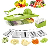 ZX-HOME COMINHKPR139646 Vegetable Grater, Large, Green
