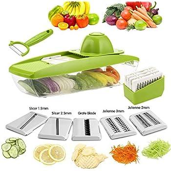 Amazon Com Mandoline Slicer Vegetable Grater Julienne