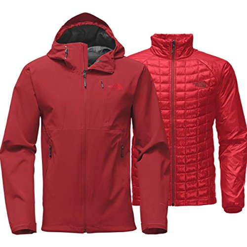 81fb488f043 The North Face Thermoball Triclimate Jacket Mens (X-Large, Cardinal Red)