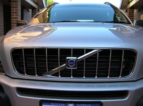 312 Motoring fits 2007-2011 Volvo XC90 XC-90 XC 90 Chrome Trim for Grill Grille 2008 2009 2010 07 08 09 10 11 KIT