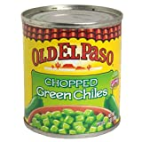 Old El Paso Chilies, Green Chili Pepper Chopped, 7 Ounce