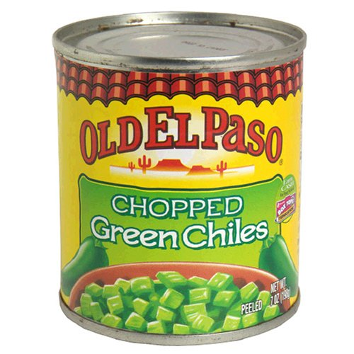 Old El Paso Chilies, Green Chili Pepper Chopped, 7 Ounce by Old El Paso