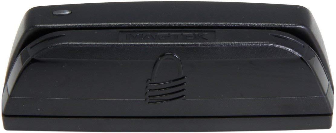 MagTek 21073062 Dynamag Magnesafe Triple Track Magnetic Stripe Swipe Reader with 6' USB Interface Cable, 5V, Black [New Improved Version by MagTek (Image #2)