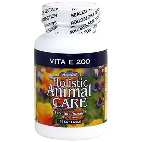 Azmira Holistic Animal Care Vita E 200 (100 Softgels)