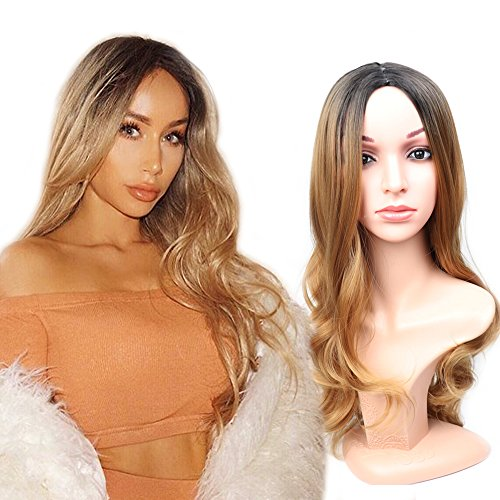 Fani-Wigs-Long-Wavy-Blond-Ombre-Wigs-for-Women-Dark-Roots-Body-Wave-Middle-Part-Heat-Resistant-Synthetic-Full-Wig-Cosplay-Wigs-with-Free-Wig-Cap