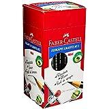 Lápis Ecolápis Max Nº2 com Borracha e Corpo Preto 144 Unidades, Faber-Castell