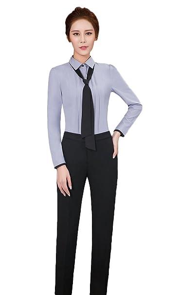 Amazon.com: SK Studio trabajo elegante Slim Fit de la mujer ...