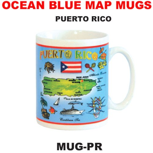 Mug Puerto Rico Souvenir and Gift Coffee Mug Tea Cup 11 Ounce ()