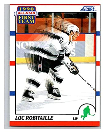 39b93cee Amazon.com: Hockey NHL 1990-91 Score #316 Luc Robitaille #316 AS NM ...