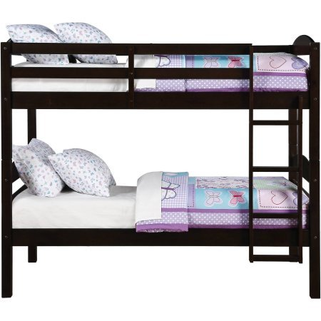Better Homes and Gardens Leighton Twin Over Twin Wood Bunk Bed (Bed Only) by Better Homes and Gardens (Image #2)