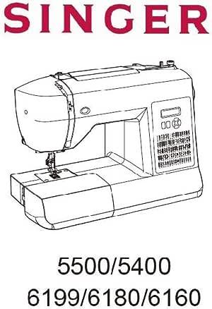 Descargar Pdf-File Singer 5500 6160 6180 6199 Máquina de coser ...