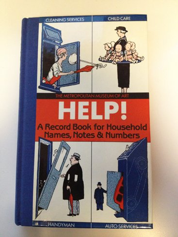 HELP! A Record Book for Household Names, Notes & Numbers ()