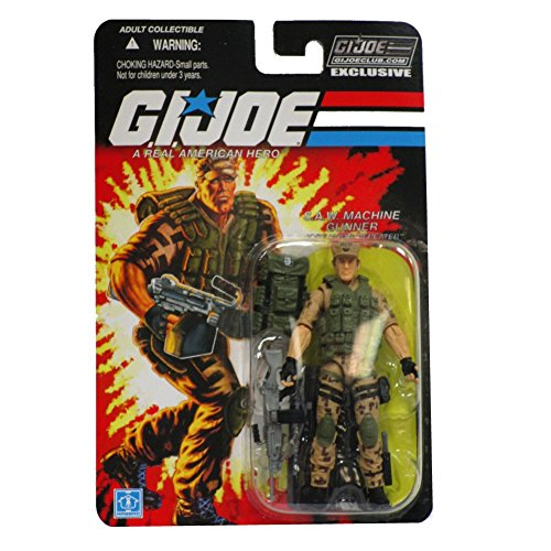 Action Repeater (Repeater S.A.W. Machine Gunner GI Joe Action Figure)