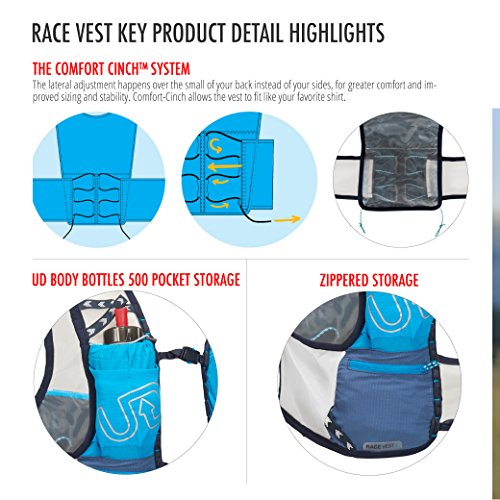 Ultimate Direction Race Vest 4.0, Signature Blue, Small by Ultimate Direction (Image #5)