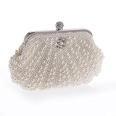 Mefly Superbe Sac À Main De Mode Perles Perles Sac Ol Navettage